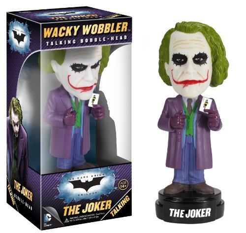 Funko Dark Knight Movie The Joker Wacky Wobbler - 1
