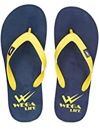 Wega Life DELIGHT Blue/Yellow Flip Flops
