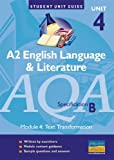 AQA (B) English Language and Literature: Unit 4: A2 John Shuttleworth