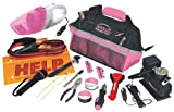 Apollo Precision Tools DT0515P 54-Piece Roadside Tool Set, Pink, Donation Made to Breast Cancer Research