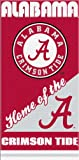 12 Alabama Crimson Tide Home Velour Beach Towels 28 x 58 Inch #00018H at Amazon.com