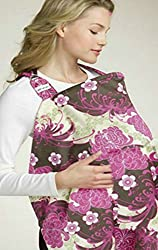 Baby Bucket Baby Nursing Cover Print (purple)