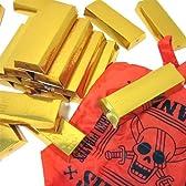 【金塊シリーズ】ワンピース金の延棒エコバック(ランダムどれか1個。金塊箱を開けるまでお楽しみ♪)