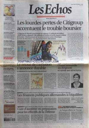 echos-les-no-20089-du-16-01-2008-les-lourdes-pertes-de-citigroup-accentuent-le-trouble-boursier-le-r