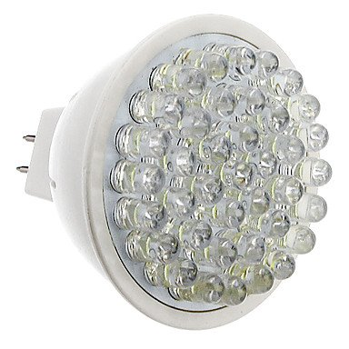 Gu5.3 2.5W 39-Led 200-230Lm 6000-6500K Natural White Light Led Spot Bulb (12V)