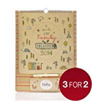 A Smile A Day 2014 Family Organiser