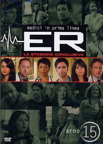 ER - Medici in prima lineaStagione15 [3 DVDs] [IT Import]