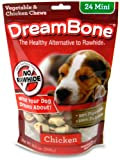 DreamBone Chicken Dog Chew, Mini, 24-Pack