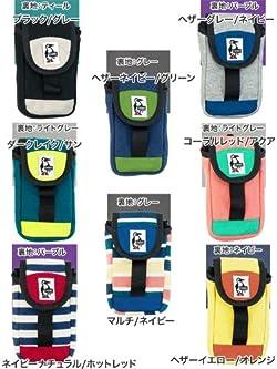 (チャムス) CHUMS パッチドケース Patched Case スウェット コーデュラナイロン / iPhoneケース マルチ/ネイビー