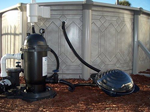 Efficiant Solar Dome Swimming Pool Heater For Above