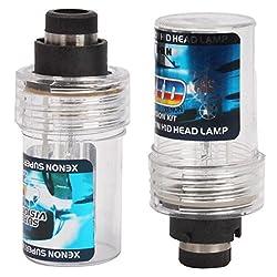 2pcs D2R 4300K 55W Car HID Xenon Lamps