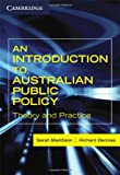 img - for An Introduction to Australian Public Policy book / textbook / text book