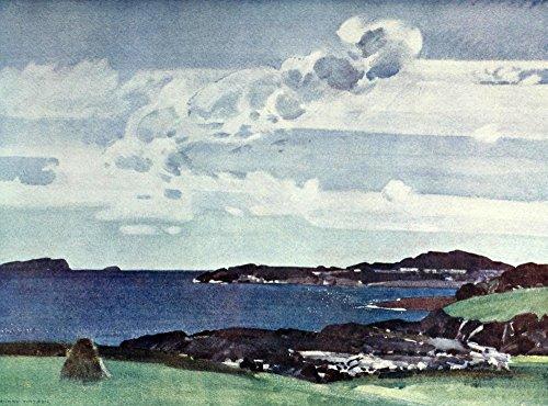 harry-watson-british-water-colour-painting-1920-near-oban-impression-dart-print-4572-x-6096-cm