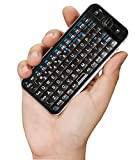 iPazzPort 2.4GHz Mini Wireless Fly Keyboard with IR Remote and Backlight 810-16R
