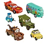 Disney,Pixar Cars 6-Pc. Figurine playsceen Set --2