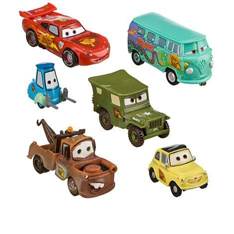 Disney,Pixar Cars 6-Pc. Figurine playsceen Set --2