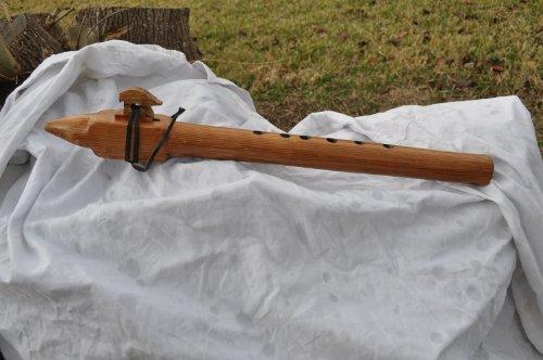 Crazy Bear G Scale Native American Style Flute Cedar