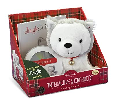 Hallmark Gifts - Jingle the Husky Pup Interactive Storybook and Plush 2.0 by Hallmark