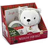 Hallmark Gifts - Jingle the Husky Pup Interactive Storybook and Plush 2.0