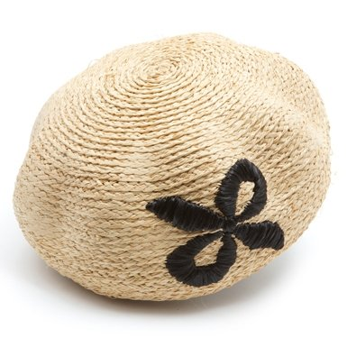 1950s Straw Beret||RF10F