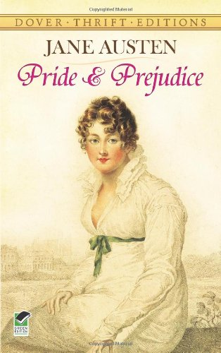 Cover of Pride and Prejudice (Dover Thrift Editions)