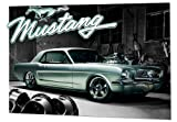 GB eye Ltd, 3d Lenticular Poster, Ford Mustang 1966, (47x67cm)