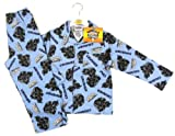 Skylanders Giants Boys Blue 'CRUSHER' Long Sleeve Button Pyjamas Set BNWT