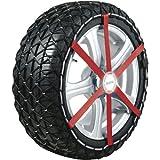 Michelin 92303 Chaîne à neige textile, Easy Grip L13, ABS et ESP compatible, TÜV/GS, Ö-Norm, 2 pièces...