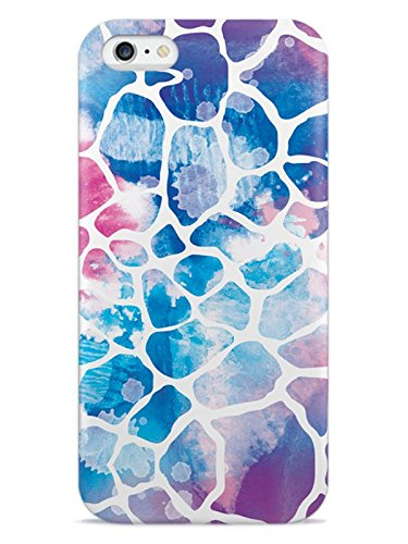 Inspired Cases 3D Textured Watercolor Giraffe Animal Pattern Case for iPhone 6 Plus & 6s Plus