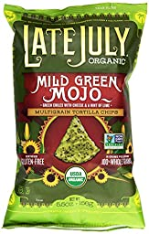 Late July Organic Mild Green Mojo Snack Chip, 5.5 oz