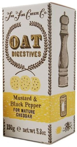Buy Fine Cheese Co. Mustard & Black Pepper Crackers, 5.3-Ounce Units (Pack of 4) (Somerdale USA, Inc., Health & Personal Care, Products, Food & Snacks, Snacks Cookies & Candy, Snack Food, Crackers)