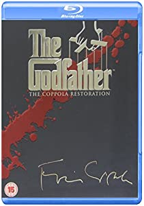 The Godfather Complete [4 Disc] Blu Ray Collection Box Set: Godfather Part 1, Part 2, Part 3 + Behind the Scenes / On location / Music / Screenwriting / Auditions / Storyboards / Cinematography / Additional Scenes /Family Trees / Trailers / Academy Award