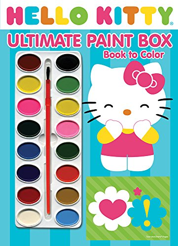Bendon Publishing Hello Kitty Ultimate Paintbox Book to Color