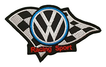 VW RACING Patches