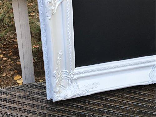 magnetic-chalkboard-white-ornate-framed-bulletin-board-framed-magnetic-chalkboard-vinyl-bulletin-boa