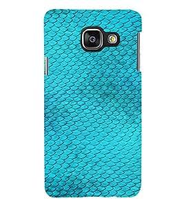 PrintVisa Blue Fish Design 3D Hard Polycarbonate Designer Back Case Cover for Samsung Galaxy A5 A510 2016 Edition