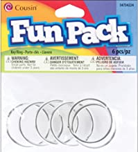 Silver Fun Pack Key Ring - 6 Ct - Silver Fun Pack Key Ring - 6 Ct This Package Contains Six 112 Inch