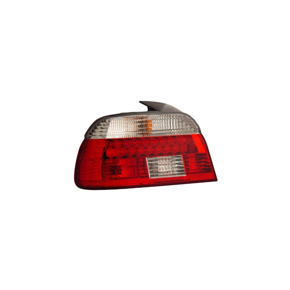 1996 2003 Bmw 5 series E39 Led Tail Lights Red/clear