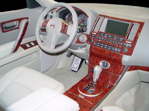 Review of infiniti fx fx35 fx45 interior wood dash trim - Infiniti fx35 interior accessories ...