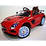Smartwheels. Battery Operated 12 V Ride On Toy Car For Kids Mercedes Remote Control. - B01C4MUPB0