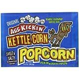Ass Kickin' Kettlecorn Popcorn, 3.5-Ounce Bags (Pack of 12)