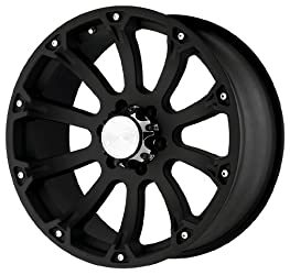 Black Rhino Wheels Sidewinder Series Matte Black Wheel (17×9″/6x135mm)