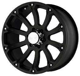 Black Rhino Wheels Sidewinder Series Matte Black Wheel (17×9″/6x135mm)