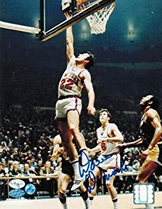 Autographed Hand Signed Dave DeBusschere New York Knicks 8x10 Photo