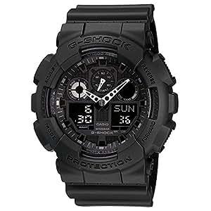 Casio Men's GA100-1A1 Black Resin Quartz Watch with Black Dial [Watch] Casio