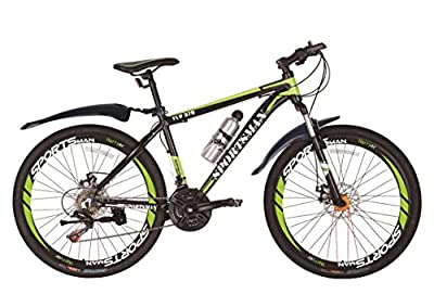 Sportsman Fly370 Mountain Bikes Bicycles Shimano 21-speed with Warranty