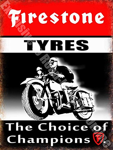 firestone-neumaticos-the-elige-entre-campeones-coche-bicicleta-garaje-vintage-metal-cartel-de-acero-
