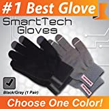 Texting Gloves for Smartphone & Touchscreen: Premium Quality Materials, Ultra-Soft Brushed Interior For Comfort & Warmth. Smart Touch-nology in Fingertips Allow Fun, Safe Texting & Smart/iPhone Use Outdoors. Unique 100% Winter-Smart Wear-antee!
