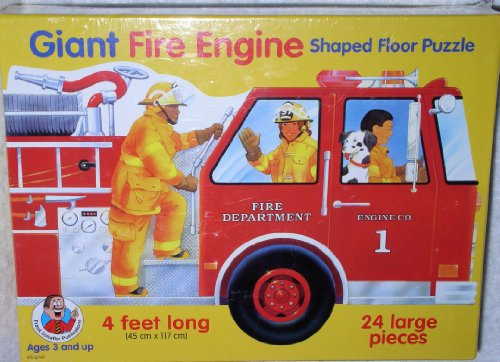 Cheap School Specialty Frank Schaffer Fire Engine Giant Floor Puzzle (B000VCYNXW)