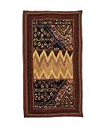 QURAMA Alfombra Persian Classic Patchwork Marrón/Multicolor 113 x 60 cm